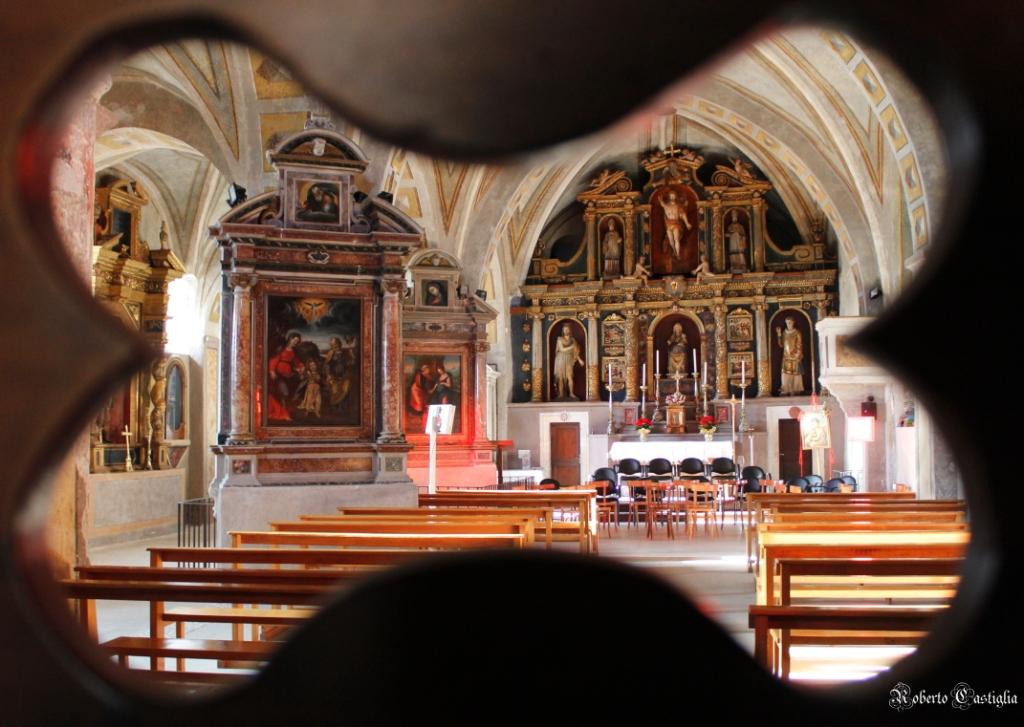 Castelvecchio Calvisio Chiesa