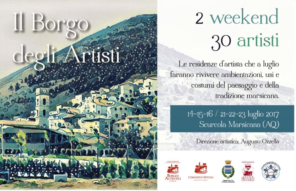 Scurcola marsicana a luglio sar il borgo degli artisti - Il giardino degli artisti ...