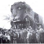 Cerisano-carro-allegorico-Leone-1958