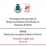 Serri, Sardegna, Borgo Autentico certificato