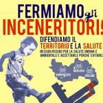 manifestazione contro gli inceneritori