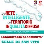 borghi autentici d'italia rete puglia legge 44 laboratorio di comunità a celle san vito