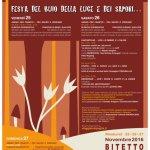Festa d'autunno, Bitetto, 25-27 novembre 2016