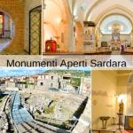 sardara comunità ospitale, monumenti aperti e inaugurazione della casa dell'ospite