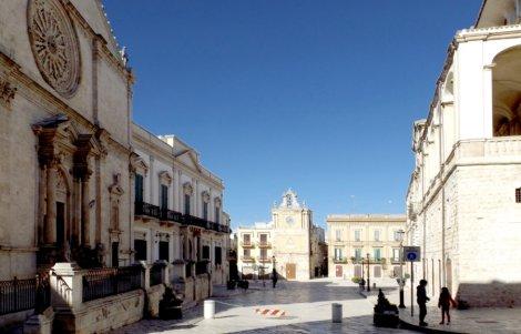 Piazza Dei Martiri del 1799 da Sud, Acquaviva delle Fonti