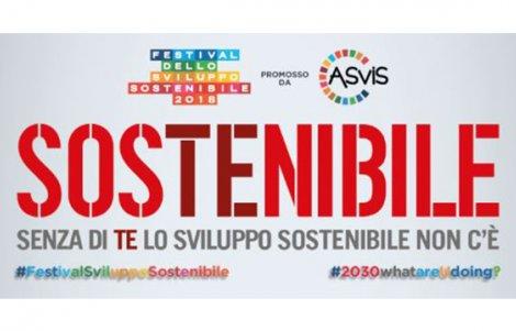 Dal 22 maggio via al Festival dello Sviluppo Sostenibile 2018