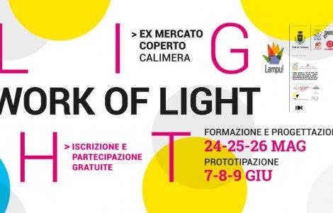 """""""Work of light"""": il progetto LAMPU! porta una nuova luce a Calimera (Le)"""