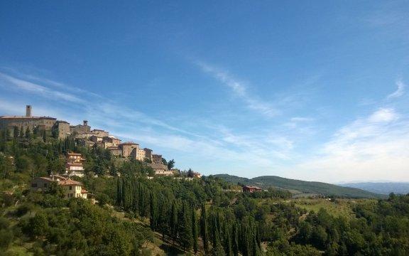 Monte Santa Maria Tiberina: vblogger in visita