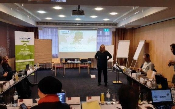 2° Meeting di coordinamento MaC Village, Vienna, 19-20 novembre 2019