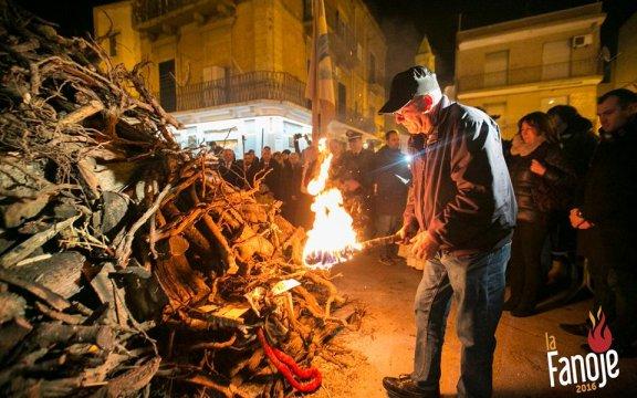 Caspurso, la Fanoje, 7 dicembre