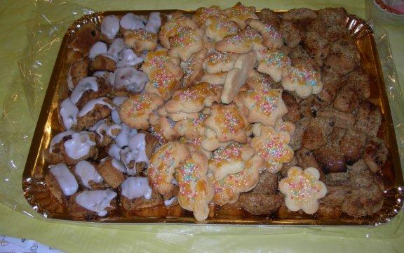 Pastissettos e Pabassinos dolci tradizionali di Aritzo