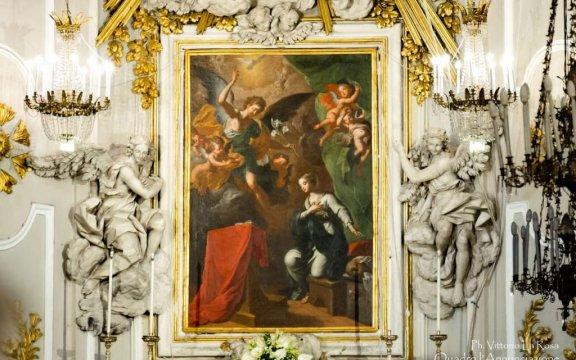 Caccamo-Chiesa-della-Annunziata-Annunciazione-di-Guglielmo-Borremans