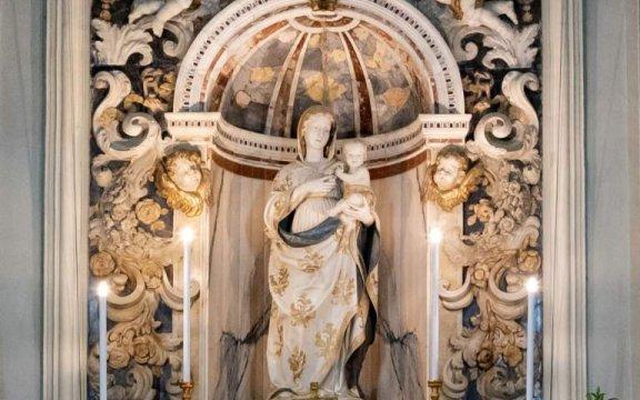 Caccamo-Madonna-con-bambino-AntonelloCagini-chiesa-santa-maria-degli-angeli-ph-Vittorio-La-Rosa