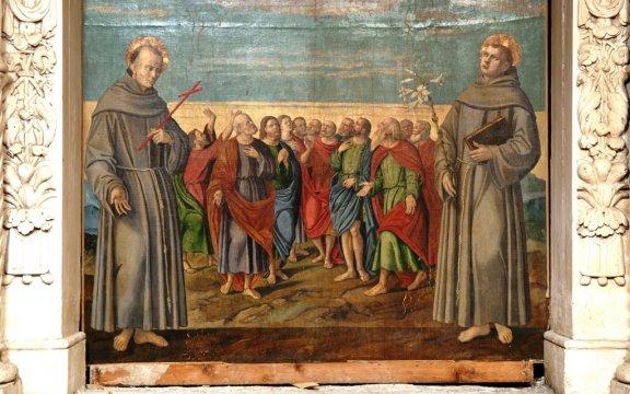 Castelvecchio Subequo, dipinti