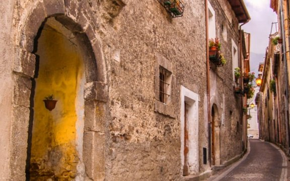 Civitella_Roveto_centro_storico_medievale