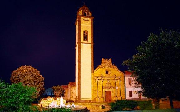Chiesa Beata Vergine delle Grazie, Masullas