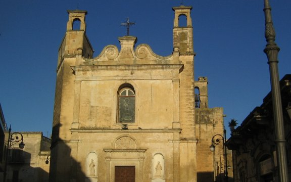 Chiesa di San Lorenzo Nuovo Lizzanello di Lupiae - Wikimedia