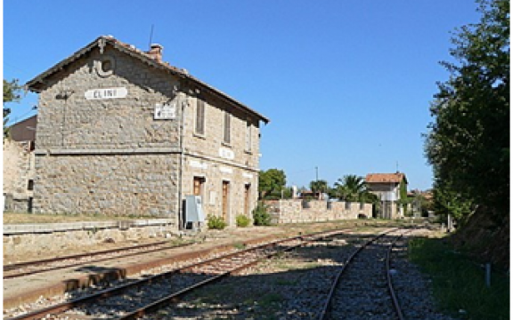 Stazione storica di Elini