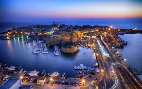 Gallipoli-paesaggio notturno-ph. Il Gusto del bello