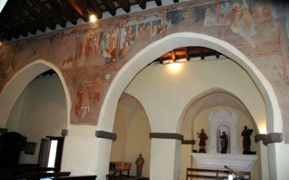 Galtellì-Ciclo Pittorico Chiesa San Pietro XI° secolo