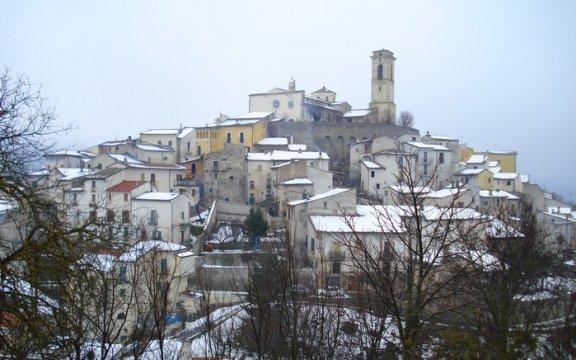 Goriano_Sicoli_paesaggio_invernale