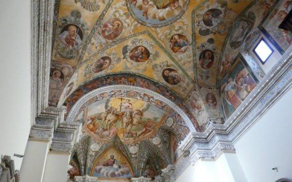 Matino-Chiesa-della-Pietà-affreschi