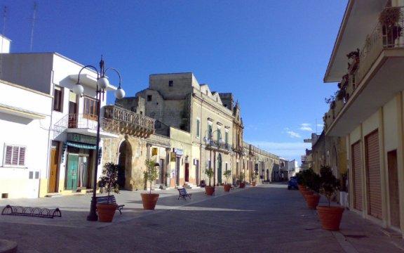 montesano salentino puglia piazza centro storico