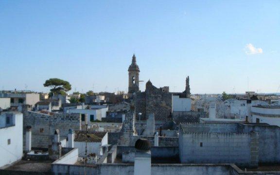 montesano salentino puglia vista dai tetti