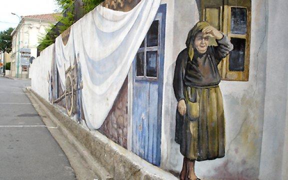 Murales di Irgoli, foto Comune di Irgoli