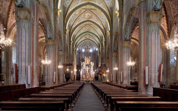 saluzzo interno della Cattedrale