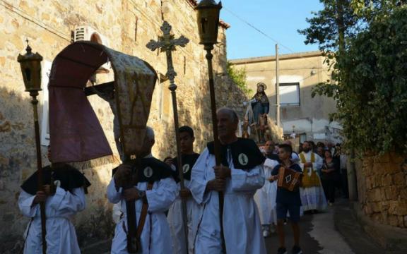 collinas Festa di San Rocco e della Beata Vergine Assunta