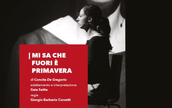 Concita De Gregorio al Teatro Garibaldi di Lucera