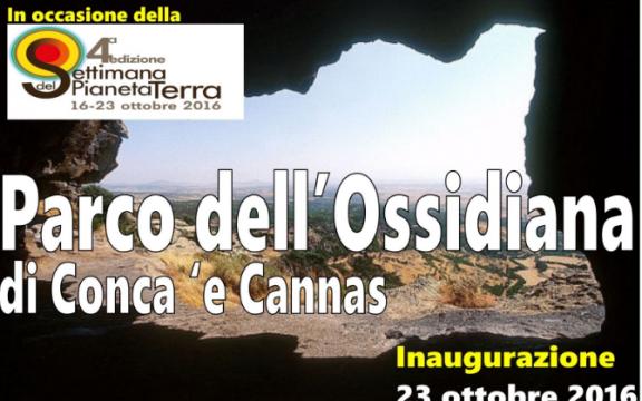 Masullas Inaugurazione Parco dell'Ossidianana Conca' e Cannas
