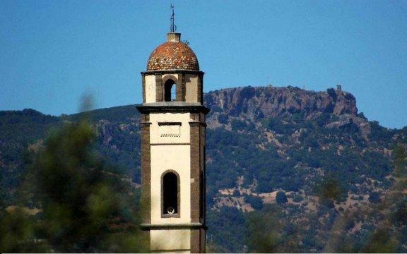 Masullas campanile Beata Vergine delle Grazie