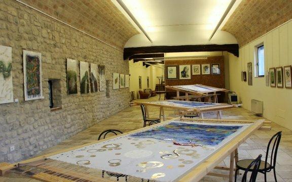 Montesegale-sala mostre-castello di Montesegale