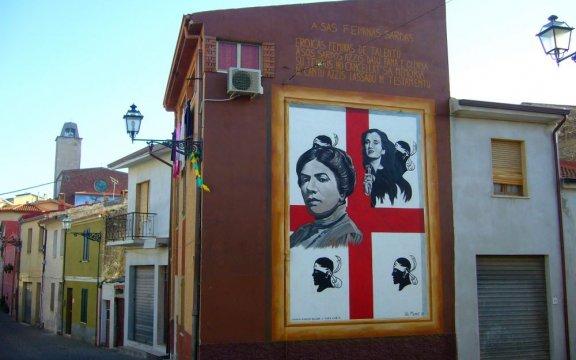 Montresta-murales-a-GrazieDeledda-e-MCarta