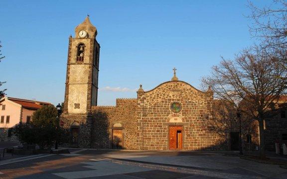Norbello, piazza di Chiesa