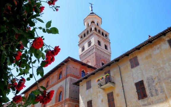 Saluzzo veduta Torre civica