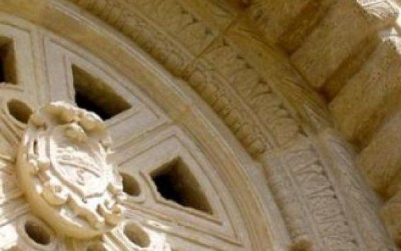 Seclì Chiesa Madre rosone
