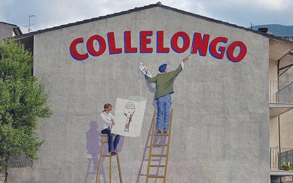 collelongo-abruzzo-muri-dipinti