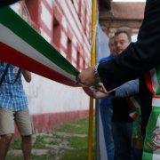 borgo autentico di saluzzo piemonte festa nazionale bai 2015 inaugurazione taglio del nastro