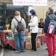 Festa nazionale a Sauris, lo stand di Fara San Martino