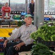 Saluzzo, al mercato con il contadino, foto John Kewley