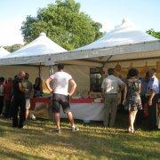 festa nazionale borghi autentici 2011 galtellì stand con prodotti tipici dei borghi