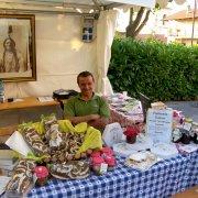 festa nazionale borghi autentici 2010 levice stand con prodotti tipici locali