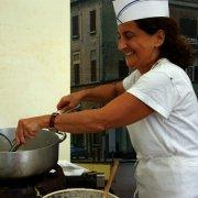 festa nazionale borghi autentici 2009 melpignano piatti tipici emilia romagna stand tresigallo
