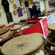 festa nazionale borghi autentici 2009 melpignano stand puglia tamburelli taranta