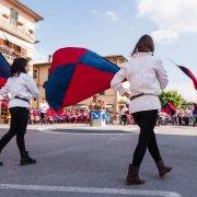 pietralunga umbria festa nazionale borghi autentici 2014 sbandieratori