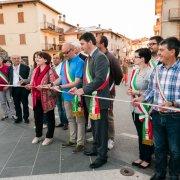 pietralunga umbria festa nazionale borghi autentici 2014 inaugurazione taglio del nastro con i sindaci dei borghi