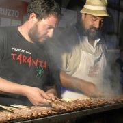 borgo autentico di saluzzo piemonte festa nazionale bai 2015 arrosticini cucina tipica abruzzo